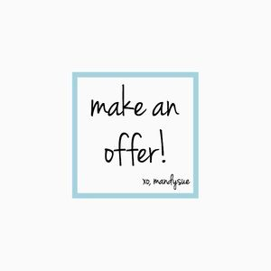 • make an offer •
